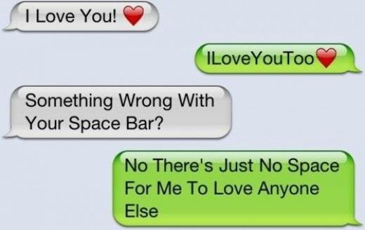 Loving you text messages